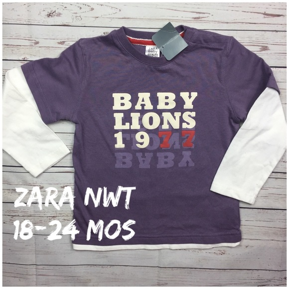 9b8895a0 Zara Shirts & Tops   1824 Mos Nwt Baby Boy Ls Top   Poshmark