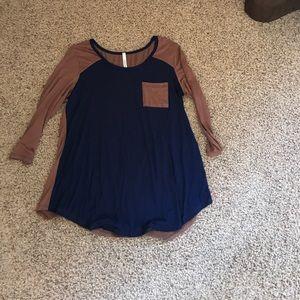3/4th length T-shirt tunic