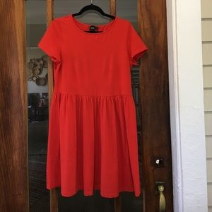 Baby doll style T-shirt dress