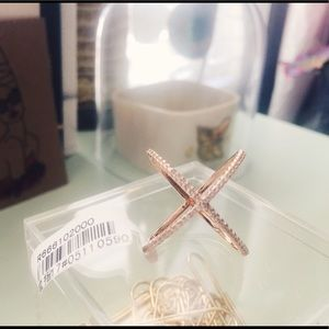 Jewelry - rose gold -tone ring