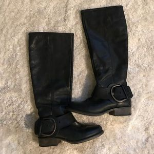 Steve Madden P-Larent leather riding boots