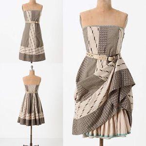 Anthropologie Walk With Me Dress