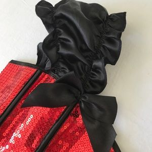 daisy corsets Intimates & Sleepwear - Christmas red sequin corset - Super Sexy!