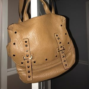 Rebecca Minkoff leather studded bag. Barely used!