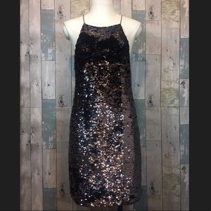 Ecote Sequined Dress