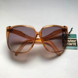 Vintage Foster Grant Golden Frame Sunglasses