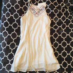 NWT- final price drop! White flowy sun dress