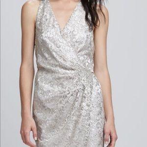 Parker Gold Wrap Dress - NYE Gatsby level glam