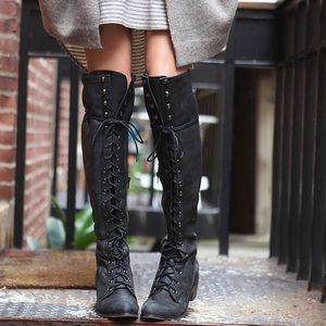 Free people Jeffery Campbell joe lace up boots 9