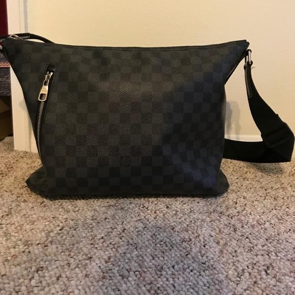612fe97c7d30 Louis Vuitton Other - Authentic Louis Vuitton Damier Graphite Mick MM