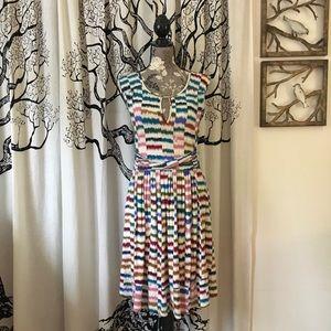 Anthropologie Maeve Soft Midi Dress