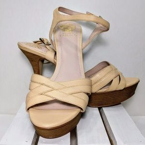 Vince Camuto Strappy Nude Sandal