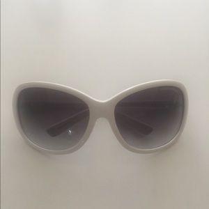 Armani Exchange Large Sunglasses - White