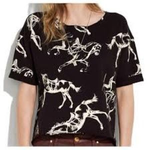 Madewell Short Sleeve Horses Tee