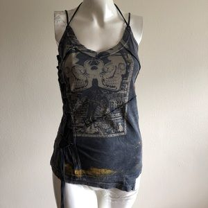 Salvage Graphic Top ... NWT