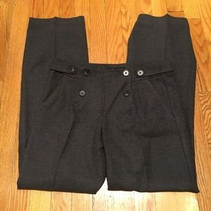 Theory charcoal trousers