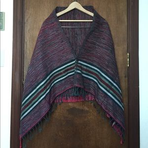Vintage Hand Woven Wrap