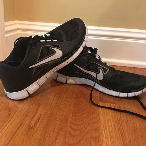 finest selection 52116 8da3e Nike Free Run 3 - Black & Silver
