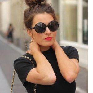 d7c2e19c9568f Ray-Ban Accessories - Ray Ban RB4222 black matte round sunglasses