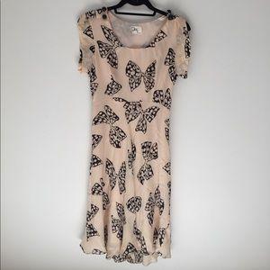Milly bow print dress