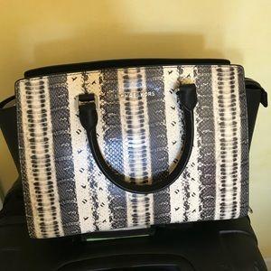 Selma python Michael Kors purse