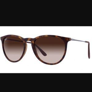 Ray Ban RB4171 matte tortoise sunglasses