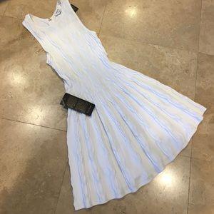 Bebe XS White Knit Dress
