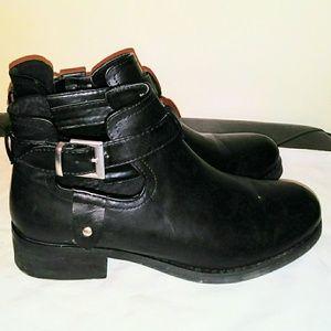 Black Ankle Biker Boots 😎