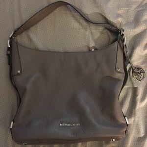 Michael Kors Grey Medium Shoulder Bag