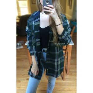 🍁 Vintage 90's Evergreen Essential Flannel 🍁