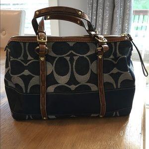 *Coach denim handbag authentic!