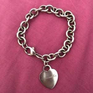 "Authentic Tiffany Heart Tag ""Samantha"" Bracelet"