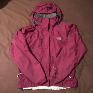 Burgundy Lightweight Rain Jacket by The North Face