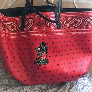 Coach x Disney reversible tote bag