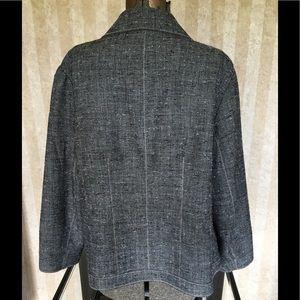 Coldwater Creek Jackets & Coats - Coldwater Creek plus size gray blazer