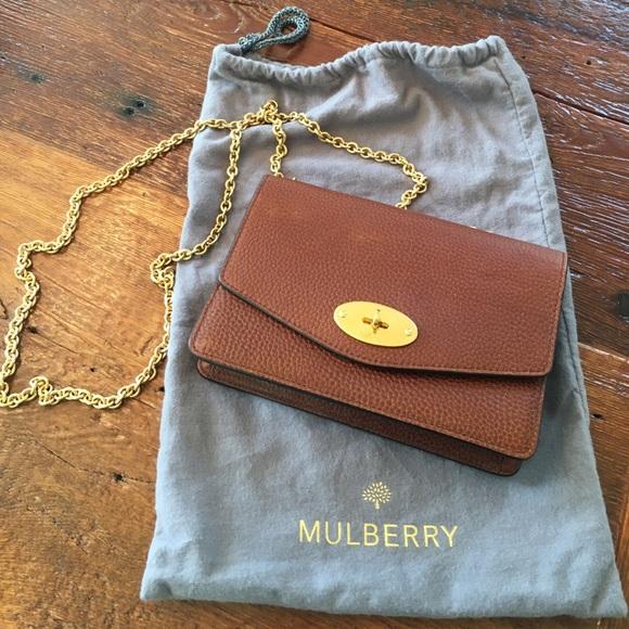 12ceeb941b Mulberry Small Darley Oak Natural Grain Leather. M 59eceadd8f0fc463f2091c74