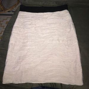 H&M soft textured mini skirt