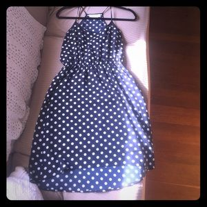 Olive and Oak Polka Dot Dress