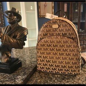 $348 Michael Kors ABBEY Backpack MK Bag Handbag