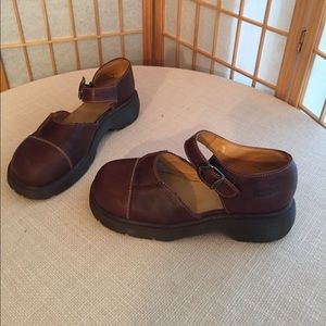 Doc Marten Mary Janes, brown US size 9