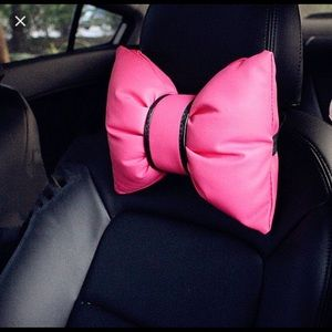 🎀Cute Bow Car Head Rest Accessories🎀