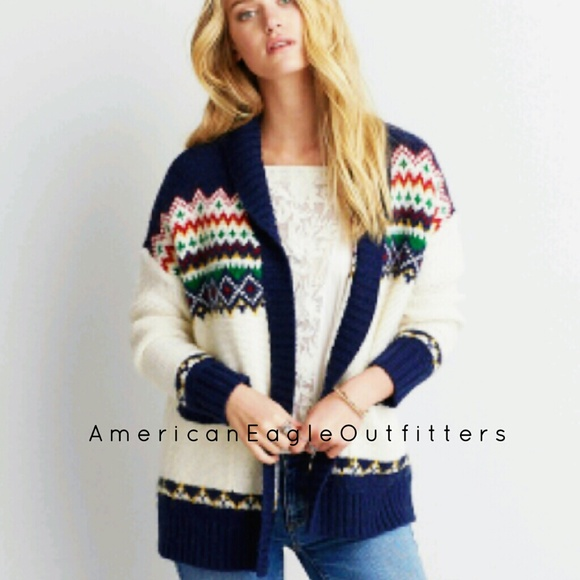 60% off American Eagle Outfitters Sweaters - NWOT~AEO   fair isle ...