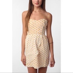 UO Coincidence & Chance Strapless Apple Dress