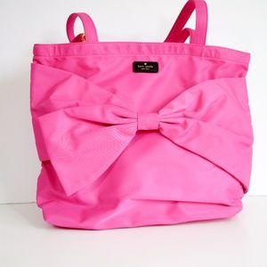 Kate Spade On Purpose Pink Nylon Tote