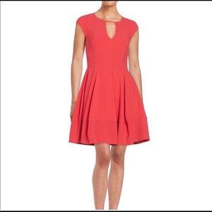 Red Halston Heritage dress