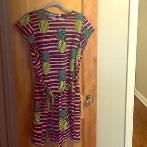 Eloquii Pineapple Dress, 14