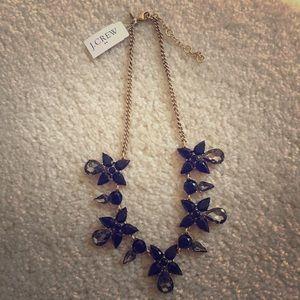 Jcrew Factory flower drop necklace