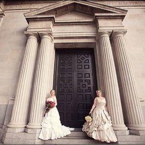 Ian Stuart Couture Plus Size Wedding Dress