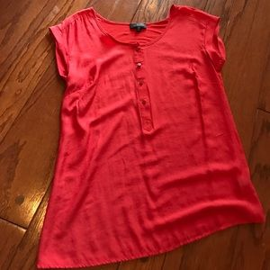 The Limited Coral Top