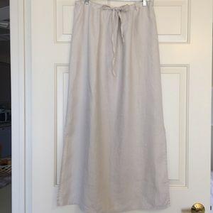Anthropolgie Linen Skirt